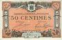 Banknoten Angoulême (16). Chambre de Commerce. Billet. 50 cmes 15 janvier 1915, 2e série