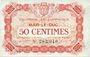 Banknoten Bar-le-Duc (55). Chambre de Commerce. Billet. 50 cmes 1.9.1917