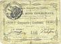 Banknoten Beaumetz-lez-Cambrai (62). Commune. Billet. 50 cmes 12.4.1915