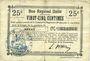 Banknoten Benay (02). Commune. Billet. B.R.U., 25 cmes