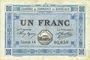 Banknoten Bordeaux (33). Chambre de Commerce. Billet. 1 franc 1917, série 25