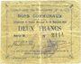 Banknoten Brebières (62). Commune. Billet. 2 francs 20.12.1914, série B