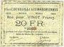 Banknoten Bruille-lez-Marchiennes (59). Ville. Billet. 20 francs 1914. N° 62 !