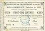 Banknoten Cagnicourt (62). Commune. Billet. 25 cmes, émission 1915, série B