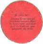 Banknoten Cahors (46). Ville. Guerre 1914. Billet. 10 cmes 26.12.1916