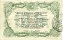 Banknoten Cambrai (59). Syndicat de Communes de la Région de Cambrai. Billet. 10 francs 10.5.1916, série G