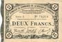 Banknoten Cambrai (59). Syndicat de Communes de la Région de Cambrai. Billet. 2 francs 10.5.1916, série E