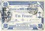 Banknoten Cambrai (59). Ville. Billet. 1 franc 30.10.1914, 1ère série