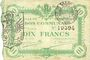 Banknoten Cambrai (59). Ville. Billet. 10 francs 8.1.1916, 1ère série