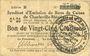Banknoten Charleville et Mézières (08). Syndicat d'Emission de  Bons de Caisse. 25 cmes 11.3.1916, série B