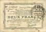 Banknoten Douai et Région de Carvin (59). Billet. 2 francs 22.5.1916, 1ère série C