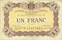 Banknoten Epinal (88). Chambre de Commerce. Billet. 1 franc 29.5.1920