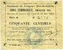 Banknoten Fampoux (62), Commune, billet, 50 cmes 18.3.1915, série A