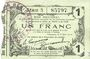 Banknoten Fourmies (59). Bon Régional des Départ. du Nord, Aisne & Oise. Billet. 1 franc 8.5.1916, série 3