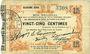 Banknoten Fourmies (59). Bon Régional des Départ. du Nord, 'Aisne & Oise. Billet. 25 cmes 24.10.1915, 2e série