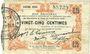 Banknoten Fourmies (59). Bon Régional des Départ. du Nord, Aisne & Oise. Billet. 25 cmes 24.10.1915, 6e série