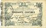 Banknoten Fourmies (59). Bon Régional des Départ. du Nord, Aisne & Oise. Billet. 50 cmes 24.10.1915, 3e série
