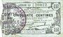 Banknoten Fourmies (59). Bon Régional des Départ. du Nord, Aisne & Oise. Billet. 50 cmes 8.5.1915, série 12