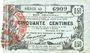 Banknoten Fourmies (59). Bon Régional des Départ. du Nord, Aisne & Oise. Billet. 50 cmes 8.5.1915, série 42