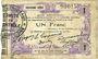 Banknoten Fourmies (59). Bon Régional Nord, Aisne et Oise. Billet. 1 franc 24.10.1915, 2e série