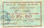 Banknoten Fresnoy-le-Grand (02). Ville. Billet. 50 cmes 15.5.1915