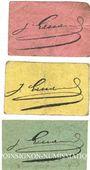 Banknoten Gaillac (81). Commerce Gaillaçois. Billets. 5, 10, 20 cmes, émission 1917