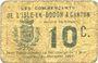 Banknoten Isle-en-Dodon & Canton (31). Les commerçants. Billet. 10 centimes
