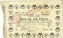 Banknoten La Fère (02). Ville. Billet. 1 franc 30.11.1914, série M