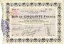 Banknoten La Fère (02). Ville. Billet. 50 francs 30.11.1914, série A