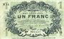 Banknoten Lille (59). Ville. Billet. 1 franc 15.12.1917, série N