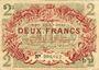 Banknoten Lille (59). Ville. Billet. 2 francs 15.12.1917, série D