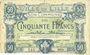 Banknoten Lille (59). Ville. Billet. 50 francs 15.12.1917, série I