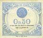 Banknoten Lyon (69). Chambre de Commerce. Billet. 50 centimes 29.7.1920, 17e série
