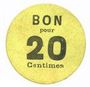 Banknoten Lyon (69). Société Horme et Buire. Billet. 20 centimes
