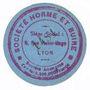 Banknoten Lyon (69). Société Horme et Buire. Billet. 5 centimes