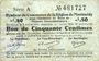Banknoten Montmédy (55). Syndicat de Communes de la région de Montmédy. Billet. 50 cmes 5 et 7.7.1916, série A
