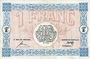 Banknoten Mulhouse (68). Ville. Billet 1 franc 18.12.1918. Série G