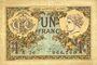 Banknoten Paris (75). Chambre de Commerce. Billet. 1 franc 10.3.1920, série A.26