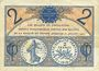 Banknoten Paris (75). Chambre de Commerce. Billet. 2 francs 10.3.1920, série A.23