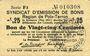 Banknoten Poix-Terron (08). Syndicat d'Emission. Billet. 25 centimes, 2e émission, mai 1917, série F3