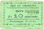Banknoten Puylaroque (82). Union des Commerçants. Billet. 10 centimes