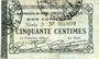 Banknoten Raillencourt-Ste-Olle (59). Commune. Billet. 50 centimes 16.12.1915, série A