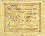 Banknoten Raimbeaucourt (59). Commune. Billet. 50 centimes émission 1915, série E