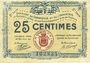 Banknoten Rochefort-sur-Mer (17). Syndicat du Commerce et de l'Industrie. Billet. 25 centimes
