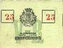 Banknoten Roubaix (59). Billet. 25 centimes, armoiries (5 mm)