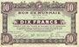 Banknoten Roubaix et Tourcoing (59). Billet. 10 francs du 27.3.1917, 9e série. N° 3550