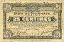 Banknoten Roubaix et Tourcoing (59). Billet. 25 centimes 21.4.1917, 10e série, n° 527