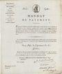 Banknoten Bon au porteur. 15 francs. 17 prairial an VIII. Département de la Gironde. R ! R !