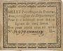 Banknoten Pezenas. Bon pour 2 sols et demi n. d., 1 signature