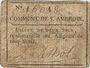 Banknoten Saint Ambroix. Billet de 2 sols n. d.